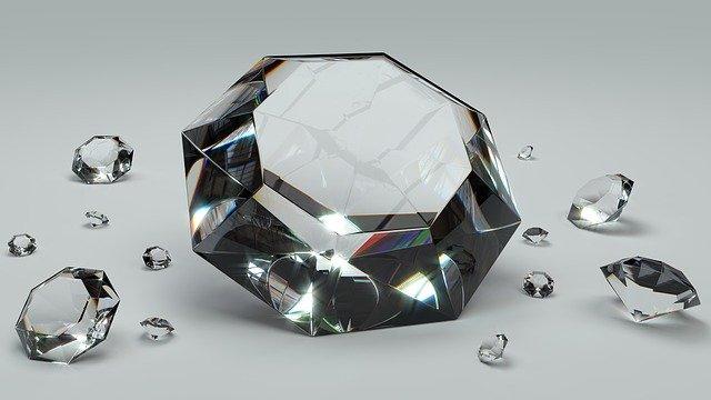 Koop diamantschilderij en andere diamant-sieraden van online galerijen
